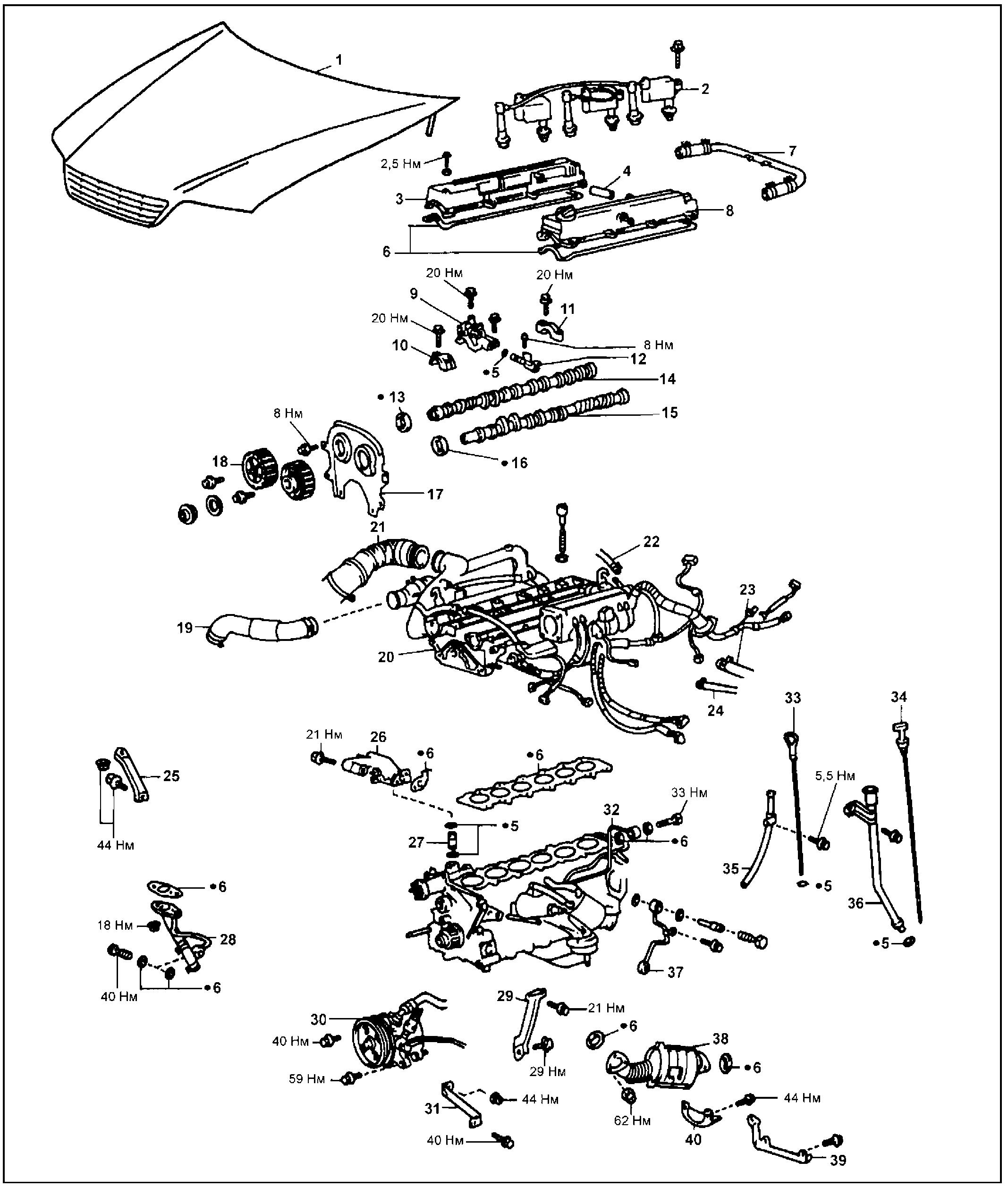Головка блока цилиндров 1JZ-GTE
