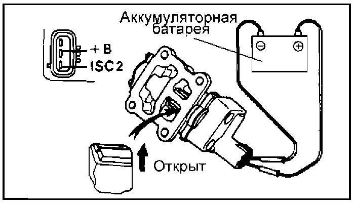 Клапан системы управления частотой вращения холостого хода (ISCV
