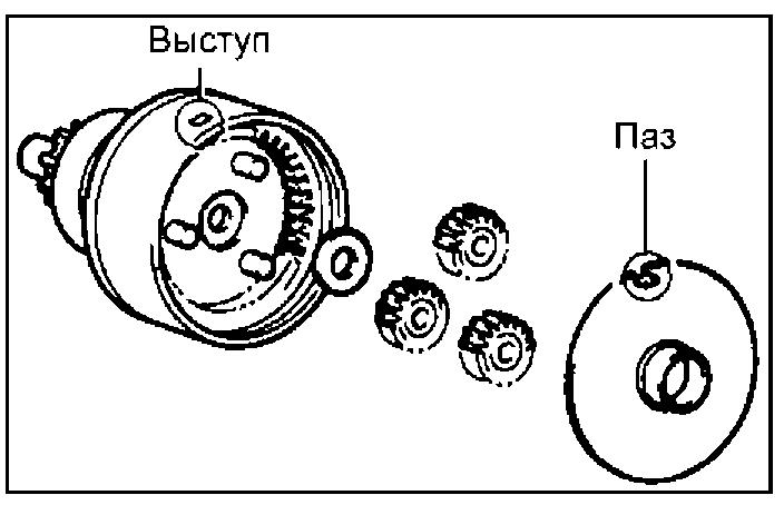 Сборка планетарного редуктора
