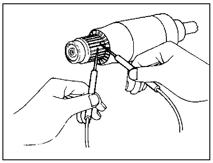 Проверка обмоток ротора стартера