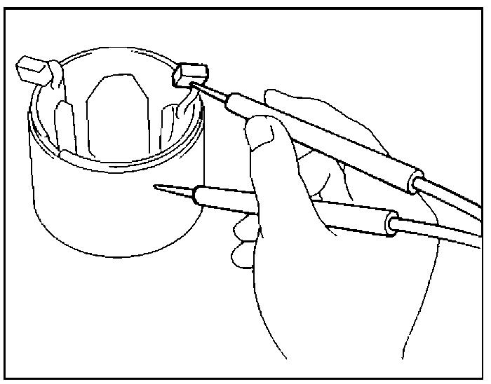 Проверка обмотки статора на замыкание на массу