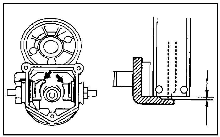 Определение износа контактной пластины