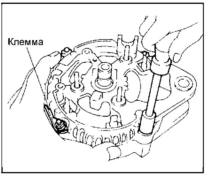 Гайки корпуса выпрямительного блока