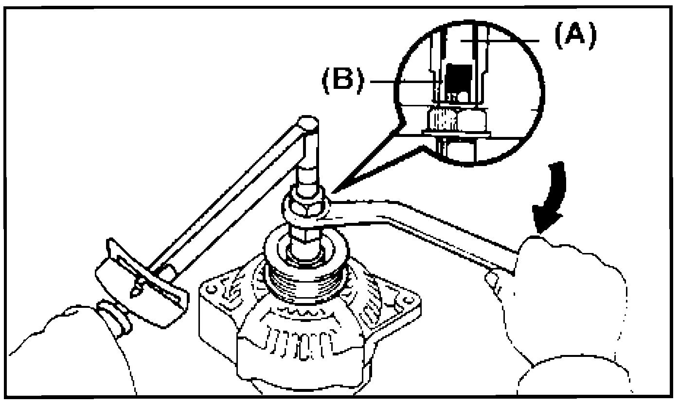 Установка шкива на генератор с помощью приспособления