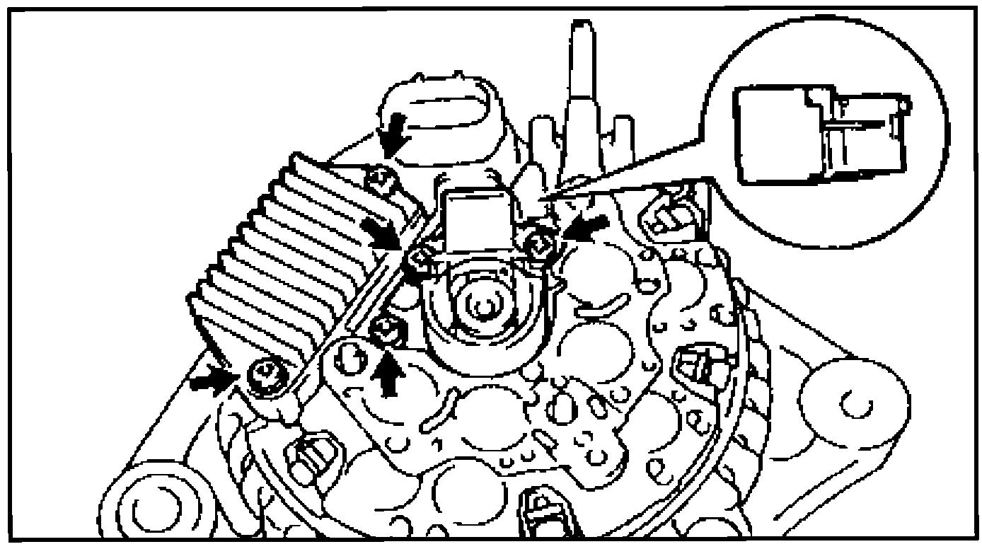 Установка щёткодержателя