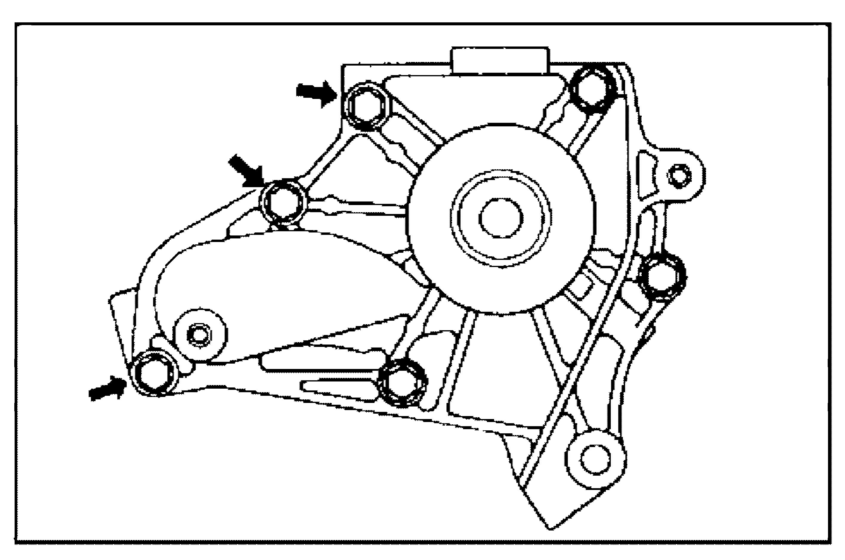 Болты крепления помпы 4S-FE