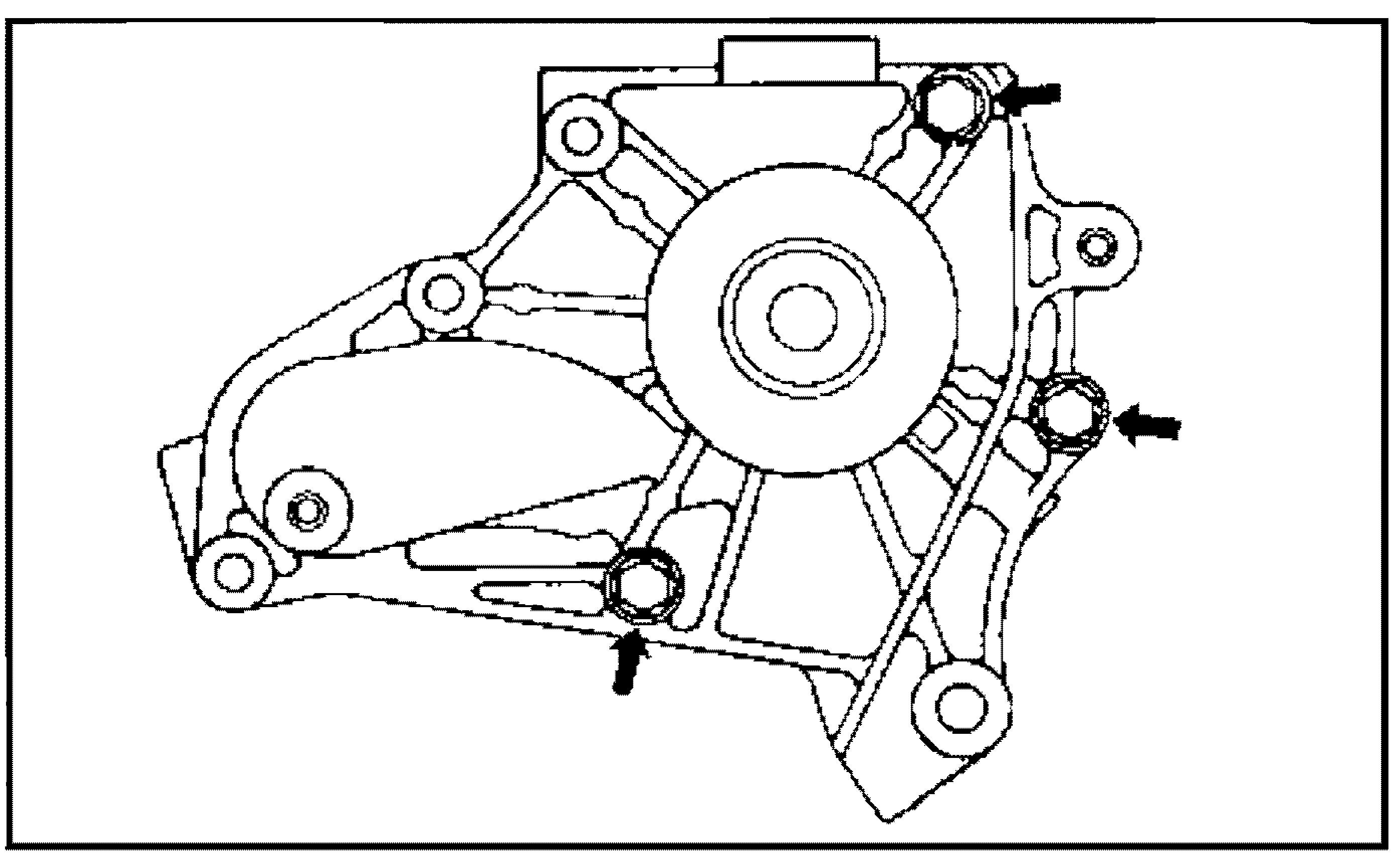 Болты крышки помпы 4S-FE
