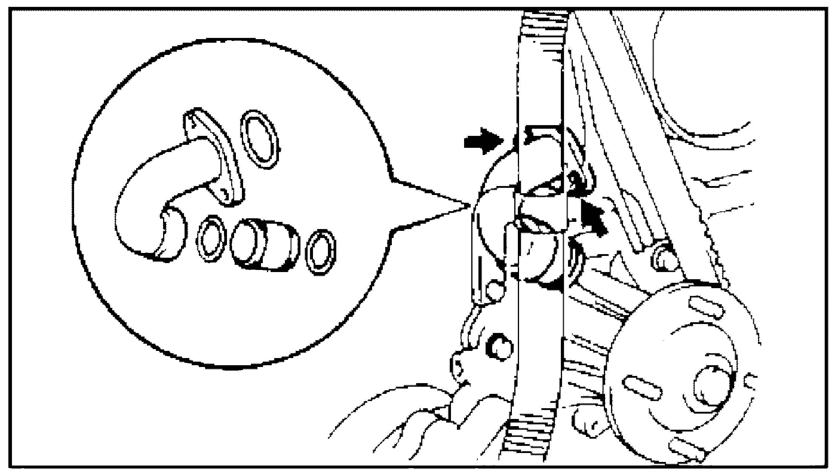 патрубок системы охлаждения и трубка перепуска охлаждающей жидкости JZ