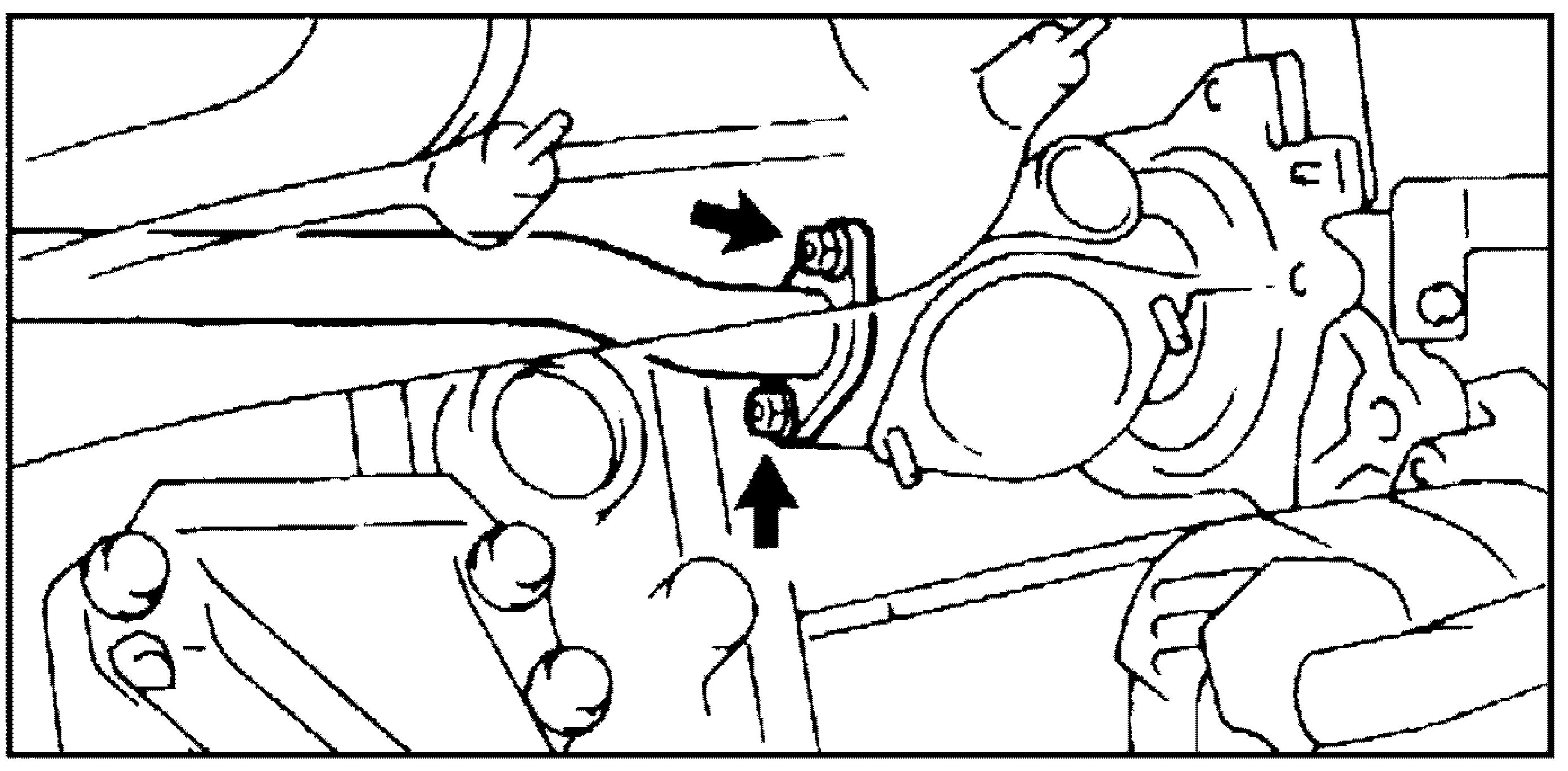 трубка перепуска охлаждающей жидкости JZ