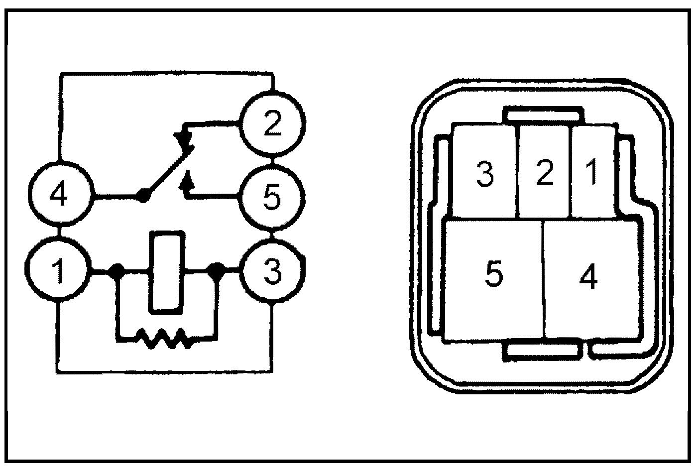 Главное реле электровентилятора 4S-FE